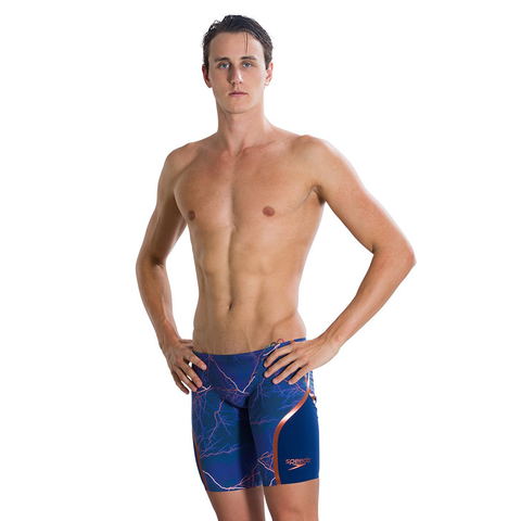 Speedo - Mens Lazer Racer X Jammer Blue/Brown