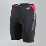 Speedo - Mens Boom Splice Jammer Black/Red/White
