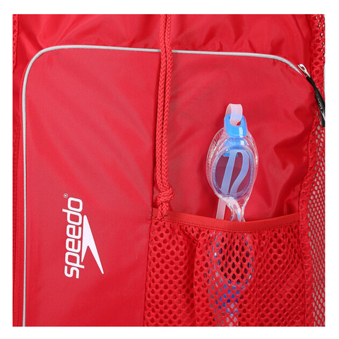 Speedo - Deluxe Vent Mesh Bag Red