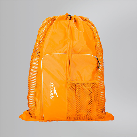 Speedo - Deluxe Vent Mesh Bag Orange - Sharks Swim Shop