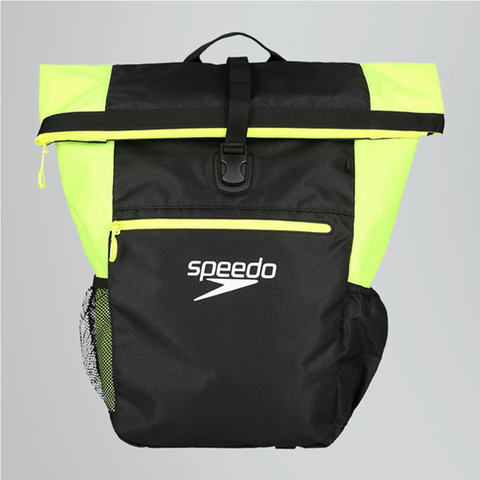 Speedo - TEAM RUCK SACK III + Black/Yellow