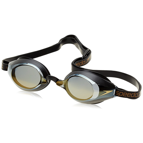 Speedo - Goggles Speedsocket Mirror - Black/Gold - Sharks Swim Shop