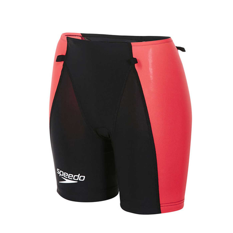 Speedo - Lazor Racer Tri Comp Short Black/Pink - Sharks Swim Shop