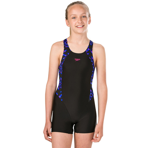 Speedo - Girls Panel Legsuit