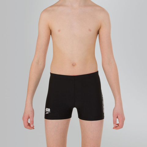 Speedo - Boys Star Wars Storm Trooper Logo Panel Aquashort