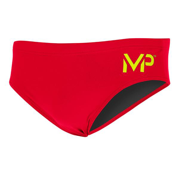 Michael Phelps - Mens Brief Solid Red