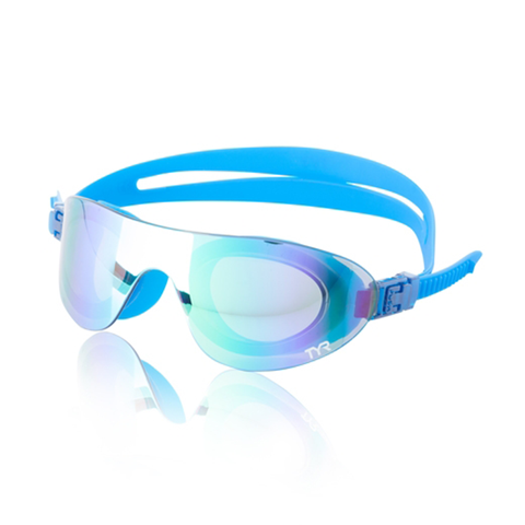 TYR - Swim Shades Mirrored Goggles Blue