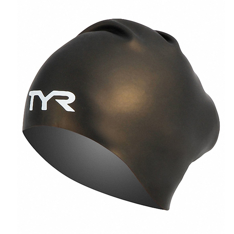 TYR - Long Hair Silicone Cap Black