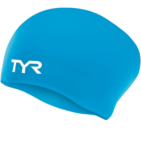 TYR - Long Hair Silicone Cap Blue