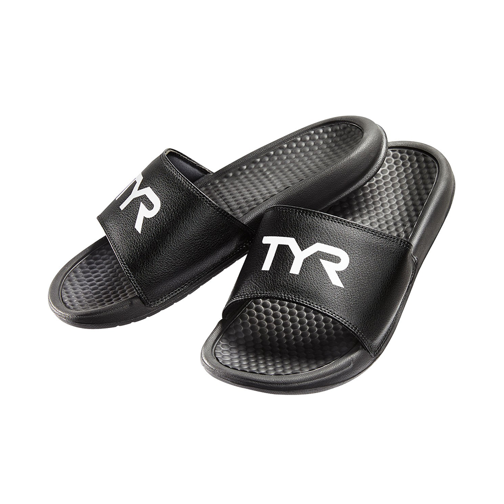 TYR - Womens Alpha Deck Slides -  Black