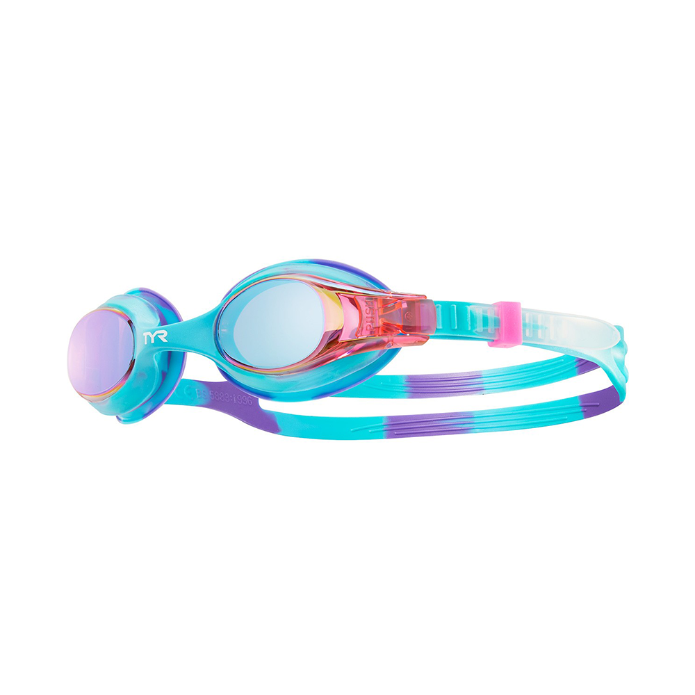 TYR -  Swimple Tie Dye Kids Mirrored Goggles