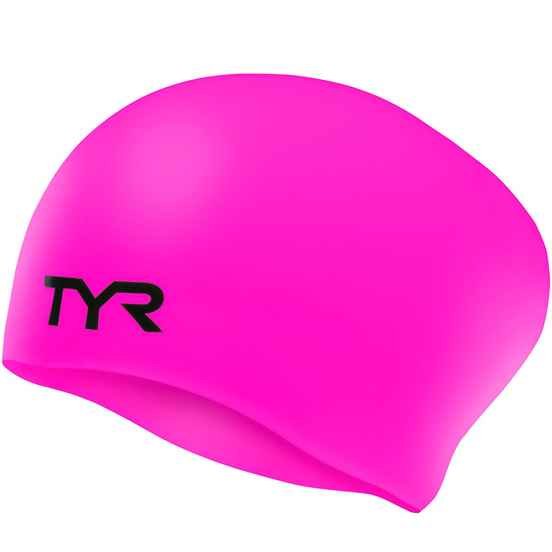 TYR - Long Hair Silicone Cap Pink