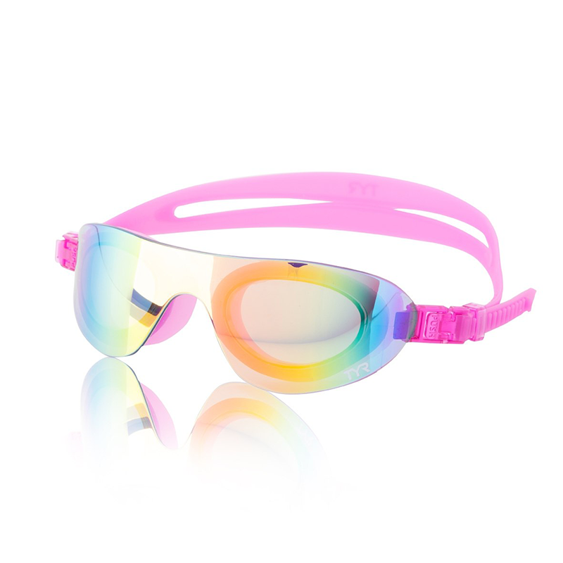 TYR - Swim Shades Mirrored Goggles Pink