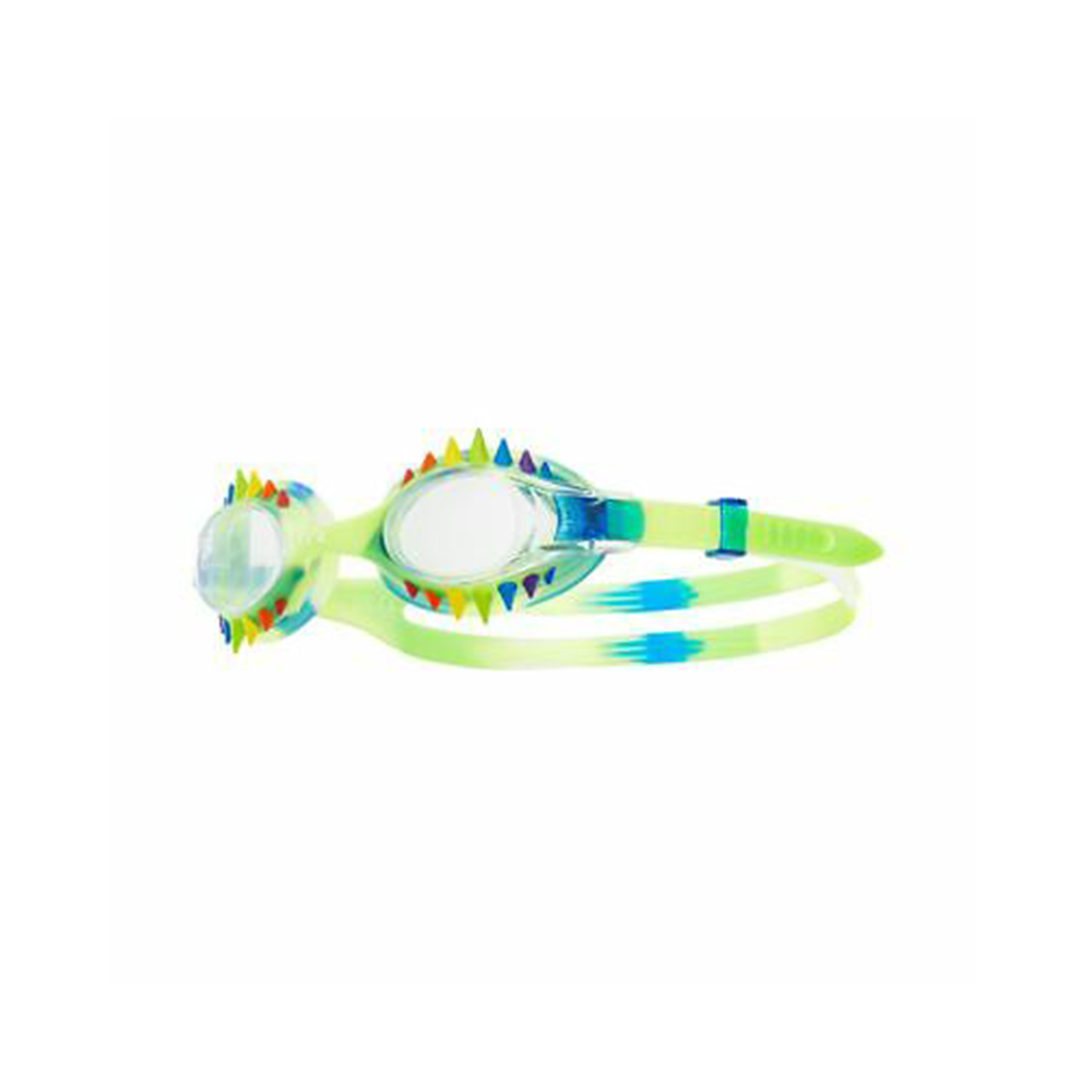 TYR - Spikes Swimple Tie Dye Kids Goggles Blue/Clear