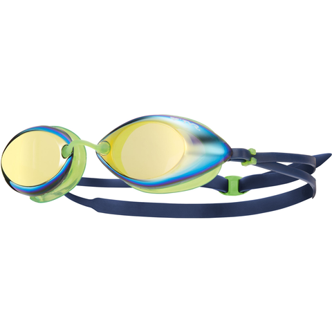 TYR - Tracer Racing Mirrored Goggles Green
