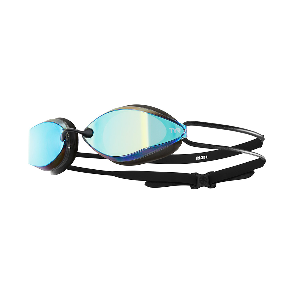TYR - Tracer-X Racing Goggle Mirrored Blue/Black