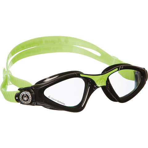 Aqua Sphere - Kayenne Junior Swim Goggles Green/Black - Sharks Swim Shop
