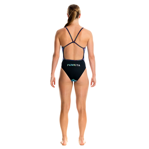FUNKITA - Ladies Single Strap One Piece Cool Killer - Sharks Swim Shop