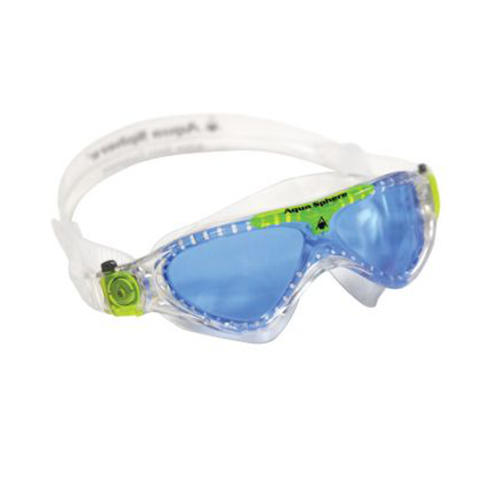 Aqua Sphere - Vista Junior Swim Goggles Clear Blue Lense