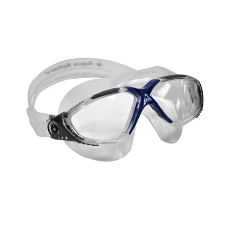 Aqua Sphere - Vista Clear/Navy - Sharks Swim Shop