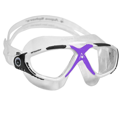 fb3e767c521 Aqua Sphere - Ladies Vista Clear Lavender White - Sharks Swim Shop