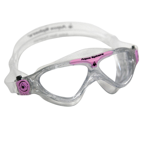 Aqua Sphere - Ladies Vista Clear/Pink?white - Sharks Swim Shop