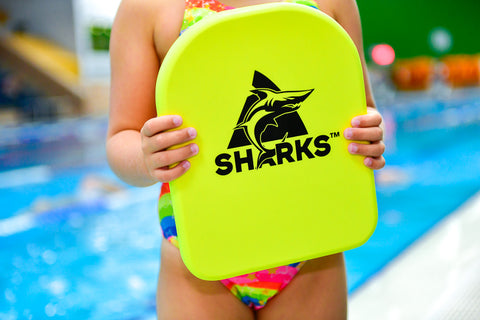 Sharks - Kick Board Yellow