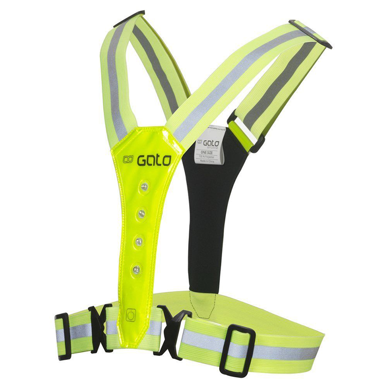 GATO - LED Safer Sport Vest Yellow