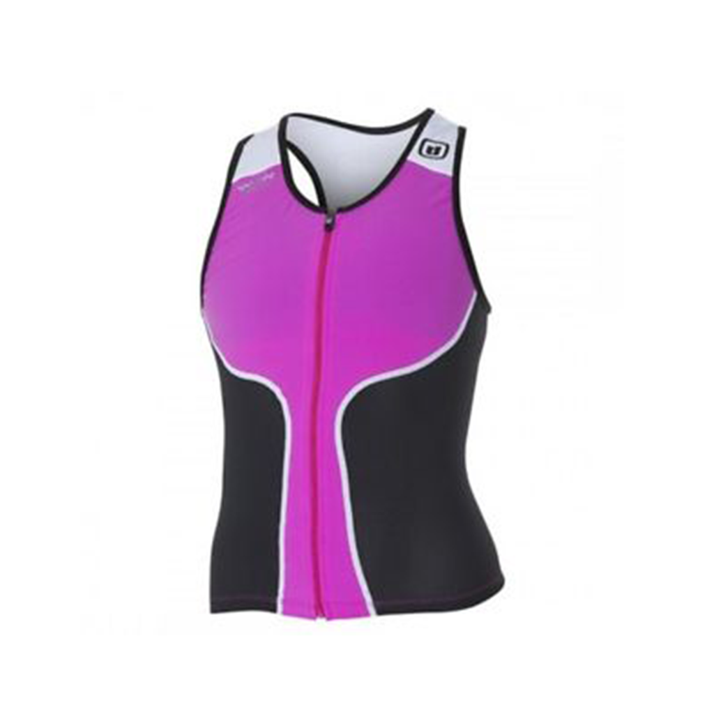 ZeroD - Womens Triathlon iTop Black/Pink