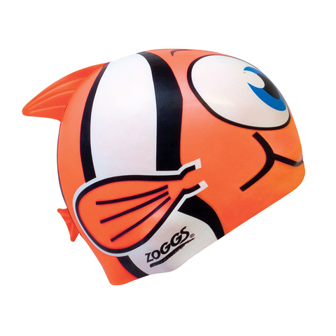 Zoggs -   Children's Silicone Character Cap Orange