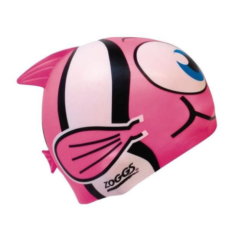 Zoggs -   Children's Silicone Character Cap Pink