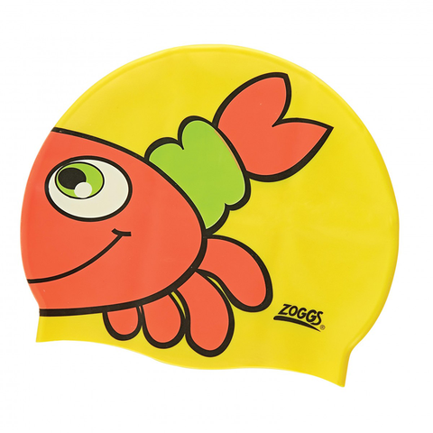 Zoggs -   Children's Silicone Character Cap Yellow