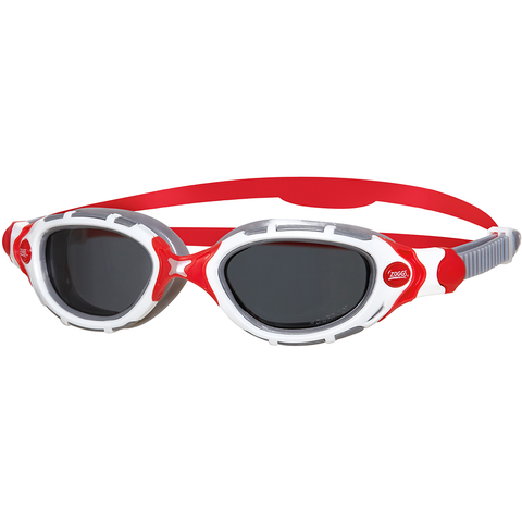 Zoggs - Predator Flex Polarized White/Red