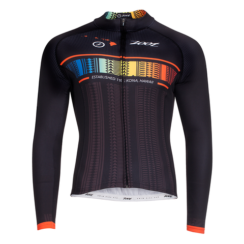 Zoot - Womens Cycle Ali'l Thermo LS Jersey Flying Hawaiian