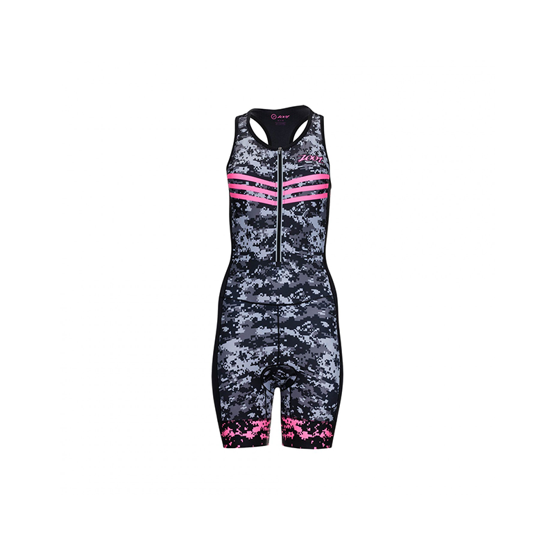 Zoot - Womens  Tri Ltd Racesuit High Viz Pink