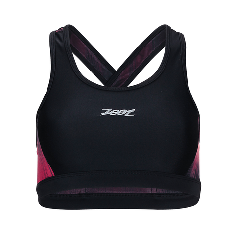 Zoot - Womens Performance Tri Crossback Bra Good Vibes