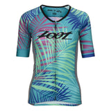 Zoot - Womens Tri Ali'L Short Sleeve Palm Print
