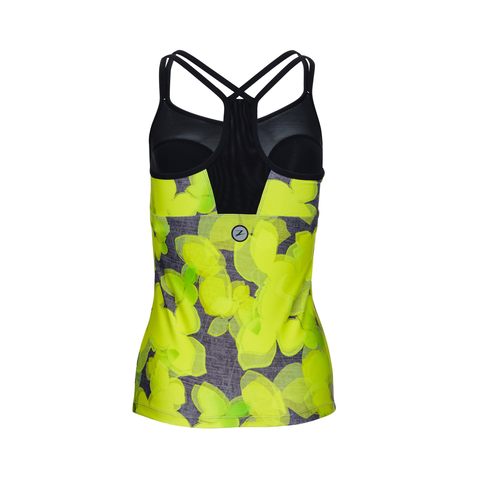 Zoot - Womens West Coast Singlet Lemon/Lime