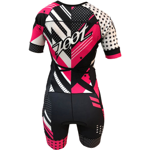 Zoot - Womens Ltd Tri SS Aero Racesuit TEAM 19