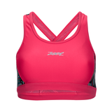 Zoot - Womens Performance Tri Crossback Bra Pink Ginger Long Board