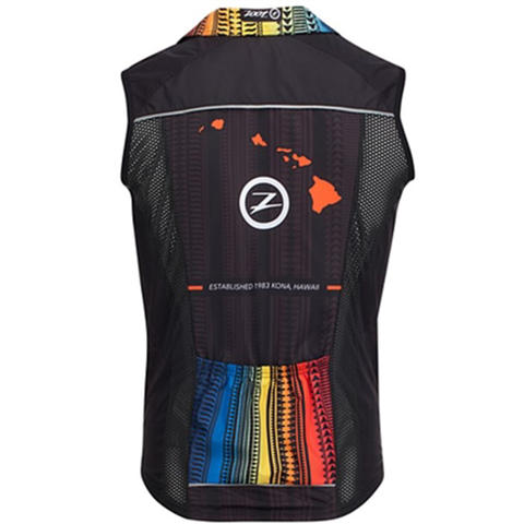 Zoot - Womens Cycle Ali'l Wind Vest Flying Hawaiian