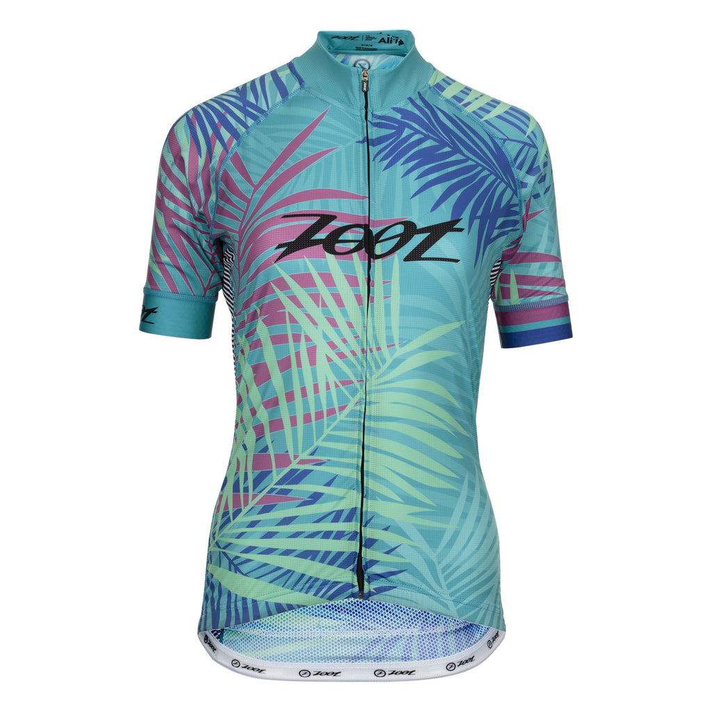 Zoot - Womens Cycle Ali'L Jersey Palm Print