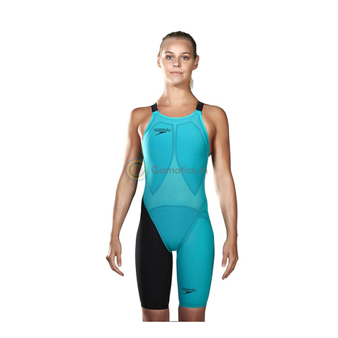 Speedo - Womens Lazor Elite 2 Closed Back Kneeskin Jade/Black