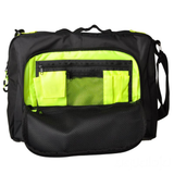 Arena - Fast Coach Bag Black/Fluo Yellow