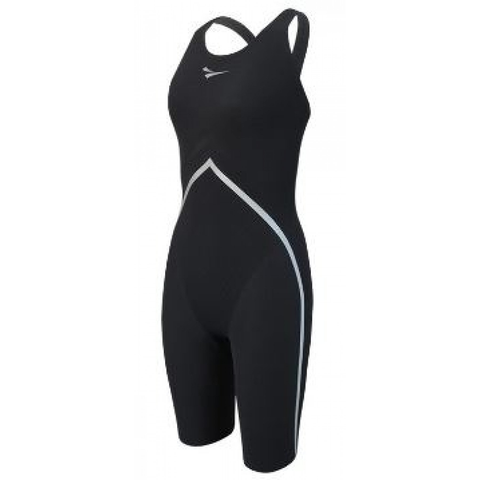 Finis - Rival Open Back Kneeskin Black - Sharks Swim Shop