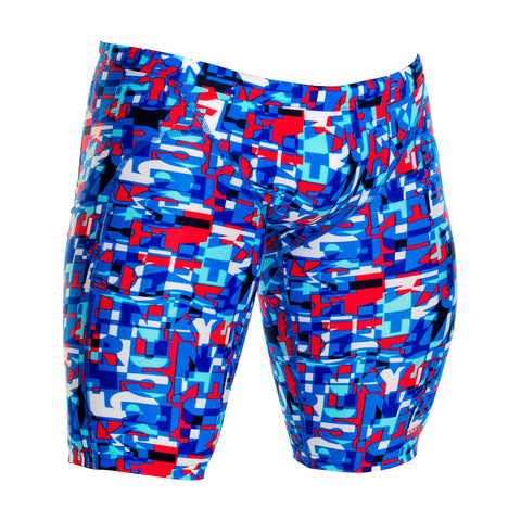 FUNKY TRUNKS - Mens/Boys Training Jammers Trunk Team - Sharks Swim Shop