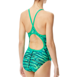 TYR - Womens Swimsuit Hydra Diamond Fit Green