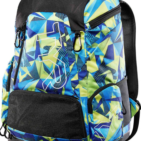 TYR - Alliance 45L Backpack Green/Blue