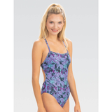 Dolfin - Womens Uglies Revibe Print Tie Back One-Piece Swimsuit Rainforest