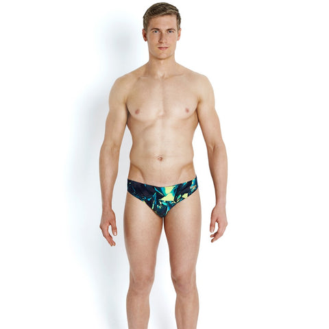 f2dca191c8 ... Speedo - Mens Allover 5cm Brief Navy/Green